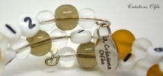 Bracelet d'allaitement OLFÉE  Brun moutarde et par CreationsOlfee, $20.00