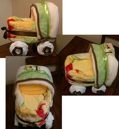 Whinny the Pooh Diaper Carriage for my  Niece's new baby, Due Feb 2.