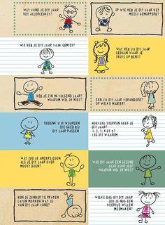 Onderwijs en zo voort ........: 1311. Einde schooljaar : Evaluatie door de kindere...