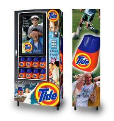 Tide Vending Machine