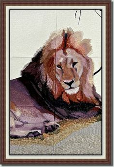 Lion - Resting in the Shade  by Fred  $30  bfc-creations.com