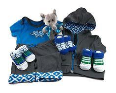 Sunshine Gift Baskets - Little Jogger Newborn Baby Gift Set | The Gift Central