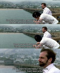 Little Miss Sunshine and suffering - Frank talking to Dwayne about Marcel Proust