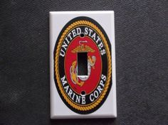 United States Marine Corps Military patch by summitskycreations   3 75Hey  I found this really awesome Etsy listing at http www etsy  . Marine Corps Themed Room. Home Design Ideas