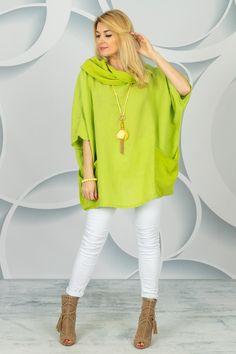 Spring Collection, White Jeans, Pants, Fashion, Tunic, Trouser Pants, Moda, Fashion Styles, Women's Pants