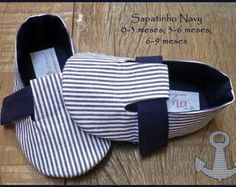 Sapatinho navy