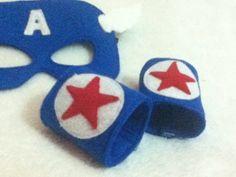 captain america wrist cuffs