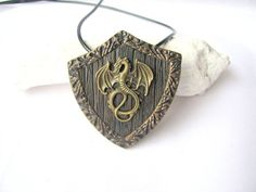 Medieval jewellery gift Medieval necklace Tribal jewelry Shield pendant Jewellery gift Unisex necklace Dragon jewelry gift Game of Thrones https://www.etsy.com/listing/557492385/medieval-jewellery-gift-medieval?utm_campaign=crowdfire&utm_content=crowdfire&utm_medium=social&utm_source=pinterest