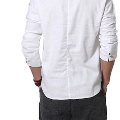 0066b33a9366 Chinese Style Cotton Linen V-neck T-shirts - Banggood Mobile