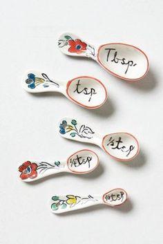 Flowerpatch Measuring Spoons