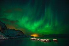 Northern Lights in Lofoten, WOW