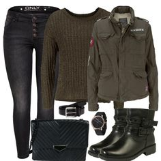Herbst-Outfits: everydayoutfit bei FrauenOutfits.de