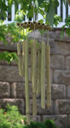 Bamboo Wind chimes by ImaginAerie on Etsy, $10.99