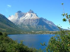 Lago Pehow, Torres del Paine National Park, Chile.