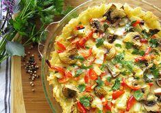 Rice-crusted Quiche