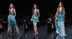 Semana de Moda de Paris mostra as tendências para o Verão 2015 - vestilo longo +leveza