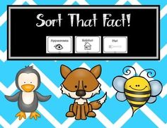 Great cut and paste activity to use while working on informational reading/writing. *Pages are black and white, but a color coded option is included for learners that need more guidance. Students will sort animal facts based on 3 categories: appearance, diet, and habitat.