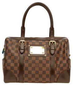 Louis Vuitton Brown Damier Canvas Tote