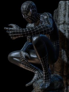 The Dark Spiderman Cool Wallpaper Collection Spiderman Kunst, Black Spiderman, Spiderman Movie, Amazing Spiderman, 3d Wallpaper Spiderman, Wallpaper Spider Man, Marvel Wallpaper, Marvel Heroes, Marvel Dc