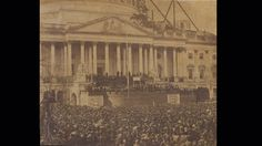 An extremely rare and historically important photograph of 'The First Inaugural of Abraham Lincoln, 4 March 1861.' Estimate $20,000–30,000 http://www.loeildelaphotographie.com/en/2016/10/05/article/159921632/a-rare-lincoln-photograph-to-be-auctioned/
