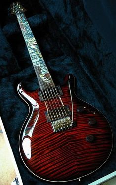 #PRS #Santana #Dragon guitar