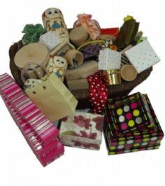 Enclosure treasure basket built with enclosure/envelopment schema in mind.