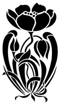 this would be gorgeous painted on a pitcher!