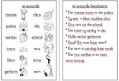 graad 1 lees - Google Search Classroom, Afrikaans, Education, Google Search, Words, Image, Class Room, Onderwijs, Learning