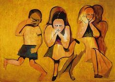 Paintings - Charles Blackman - Page 2 - Australian Art Auction Records Australian Painters, Australian Artists, Cinderella Suite, Art Station, Claude Monet, Traditional Art, Kids Playing, Contemporary Art, Trust