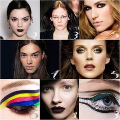 Trendy make-up jesien-zima 2016/2017