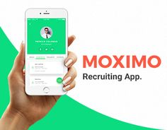 """Check out this @Behance project: """"Moximo. Recruiting app."""" https://www.behance.net/gallery/47310061/MoximoRecruiting-app"""