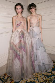 Valentino dresses at Couture Spring 2015 (Runway Fashion)