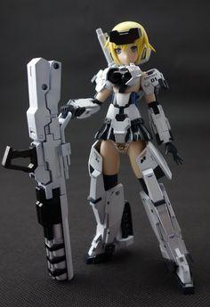 歐派@歡樂屋: [壽屋] Frame Arms Girl 轟雷 - yam天空部落