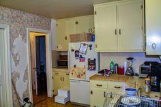 Kitchen Renovation - Refacing Kitchen Cabinets - New Hardware