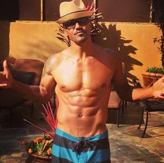 """""""WORK HARD.... So you can LOUNGE n TAN HARDER!!!! Good Friends, jokes, Music, a little sumthin to sip on = ENJOY YO LIFE!!! Don't Hate... PARTICIPATE!!!! """" --Shemar Moore"""