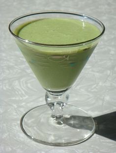 Basic Matcha Green Tea Smoothie- try with berries and other fruit too!   I also add Chia Seeds and honey