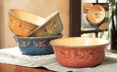 Olive Cereal Bowls