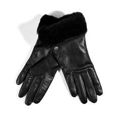 UGG Australia leather gloves