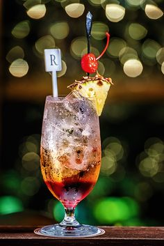 Renaissance Johor Bahru Hotel- Toast to a great weekend with our signature R-Sling Mocktail.  Available at R Bar & Cafe BLD