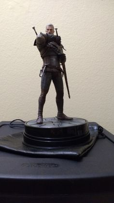 [fan art?] Girlfriend gave me this for Christmas the first of my collection for Witcher hopefully! Also first time posting here hi! #TheWitcher3 #PS4 #WILDHUNT #PS4share #games #gaming #TheWitcher #TheWitcher3WildHunt