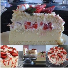 Cheesecake japonés el truco para que salga perfecto, Si te gusta dinos HOLA y dale a Me Gusta MIREN Cheesecake Fruit Salad, Cheesecake Bites, Food Cakes, Cupcake Images, Sweet Cakes, Cream Cake, Cakes And More, Vanilla Cake, Cake Recipes