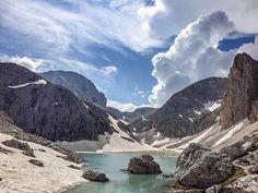 Antermoia, vicino l'omonimo rifugio, gruppo del Catinaccio, Dolomiti. Andrea Giorgione