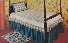 Vintage PDF Crochet Pattern for Irish Rose and Linen Bedspread Instant Download Diy Crochet Tablecloth, Bedspread, Pillow Covers, Irish, Pdf, Pillows, The Originals, Etsy, Ireland