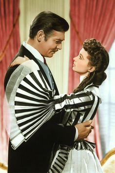 Gone With The Wind, 1939 - Clark Gable and Vivian Leigh