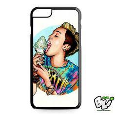 Miley Cyrus Eat Ice Cream iPhone 6 Plus Case | iPhone 6S Plus Case
