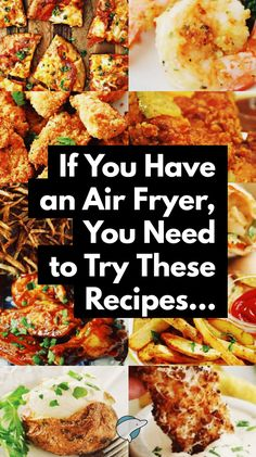 Looking for Healthy 30 Air Fryer Recipes that are tasty, Healthy, quick & easy to make? Each of the air fryer recipes in this collection are under 425 kcal. Air Fryer Dinner Recipes, Air Fryer Oven Recipes, Recipes Dinner, Breakfast Recipes, Cocktail Recipes, Easy Healthy Recipes, Easy Meals, Delicious Recipes, Healthy Food