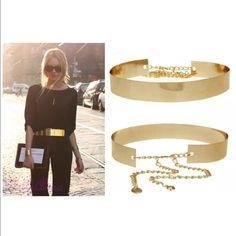 Stylish Gold Belt brand new! Accessories Belts