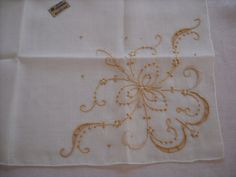 Vintage Madeira Handkerchief Wedding Bridal by LeapofFaithCraftVin