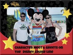 A review of some of the Character Meet and Greets on the Disney Cruise Line
