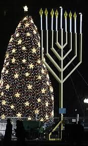celebrate both Hanukkah and christmas